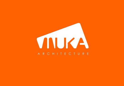logotipo para el estudio muka arquitectura curso de