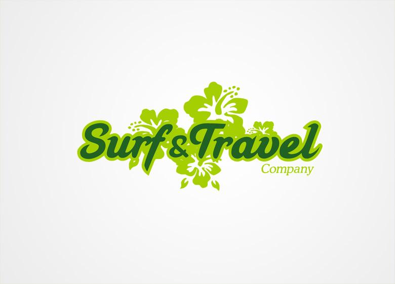 Diseño de logotipo para Surf & Travel - Logoestilo
